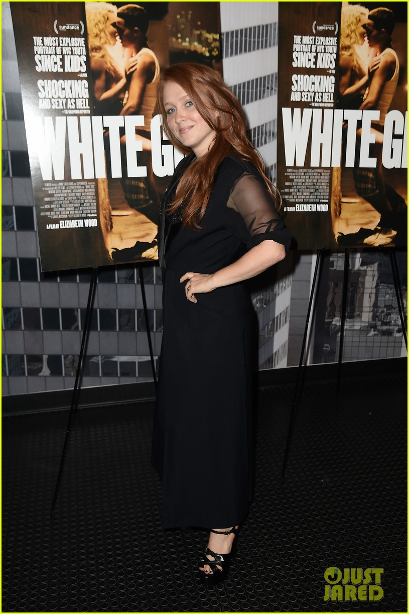 morgan saylor justin bartha premiere white girl nyc 293740718
