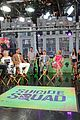will smith suicide squad cast stops by good morning america 09