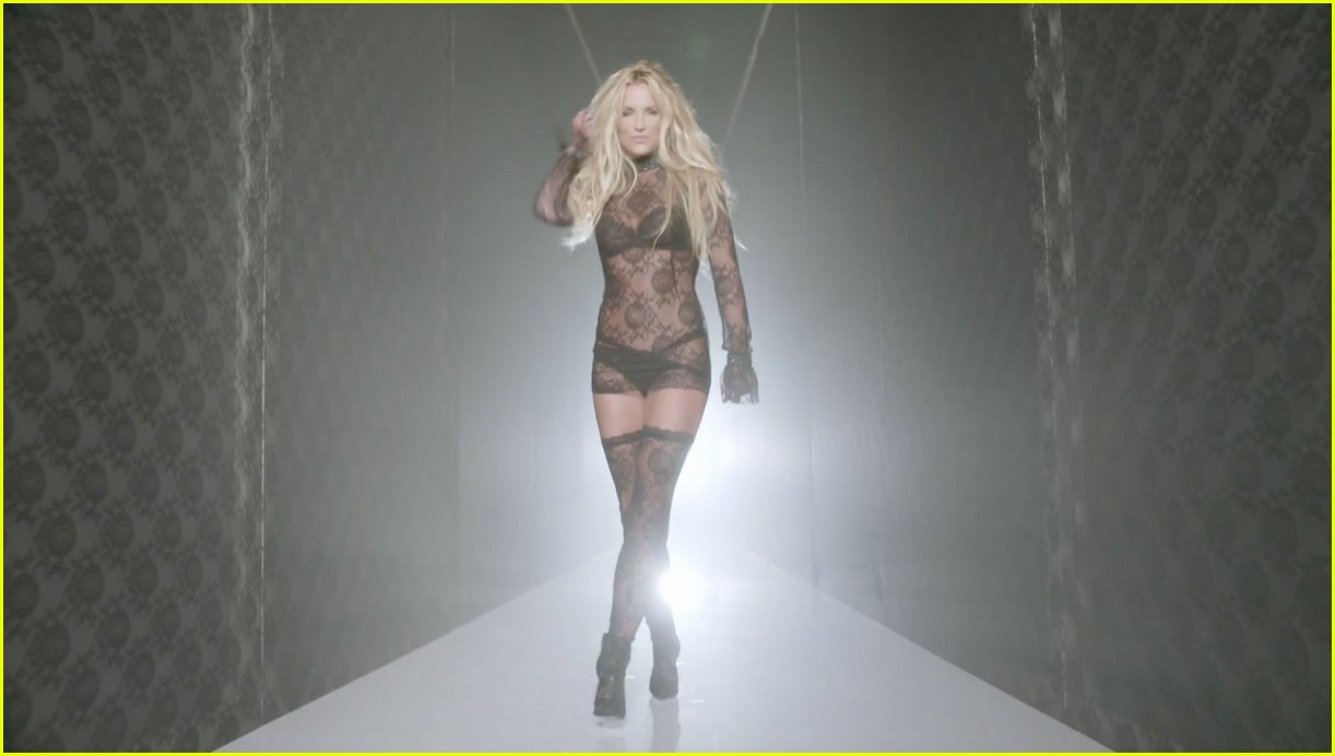music video naked Britney spears