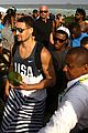 team usas olympic basketball team hang out on the beach in rio 14