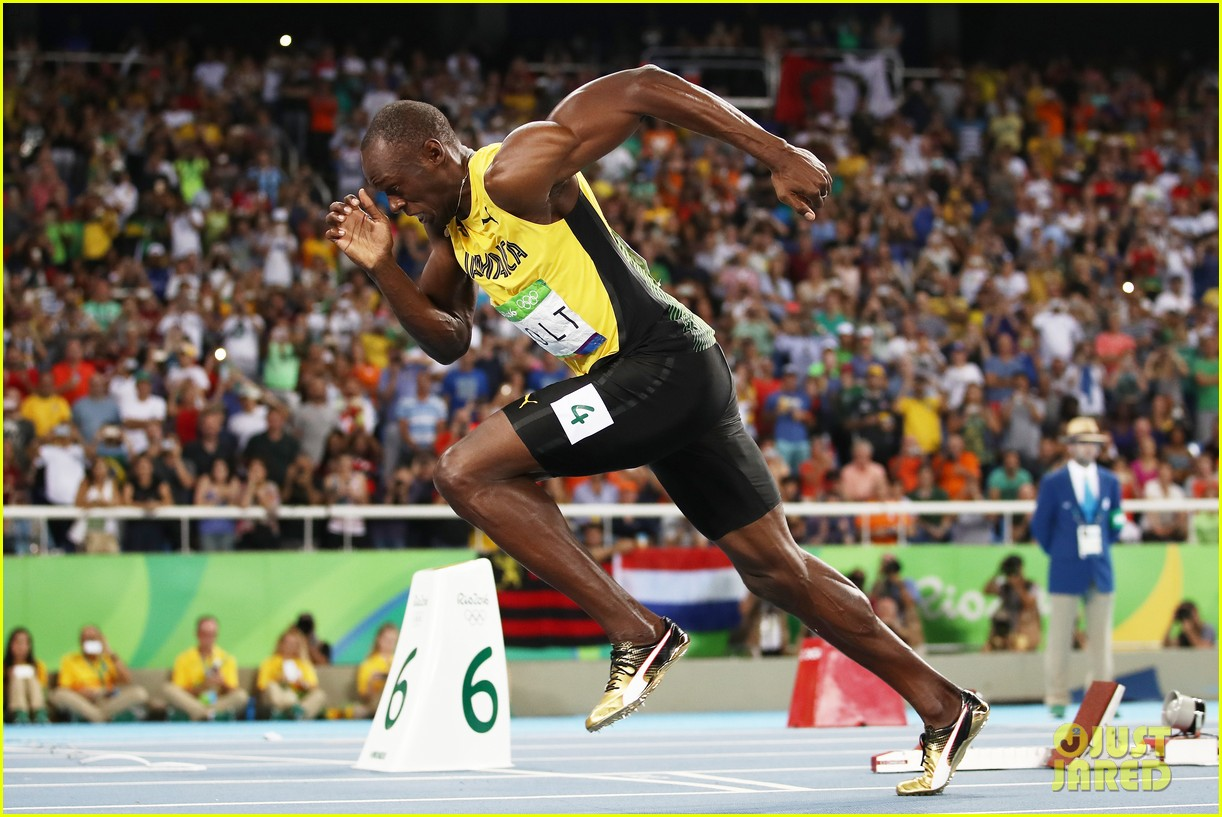 Usain Bolt Places First in 200m, Justin Gatlin Fails to ...