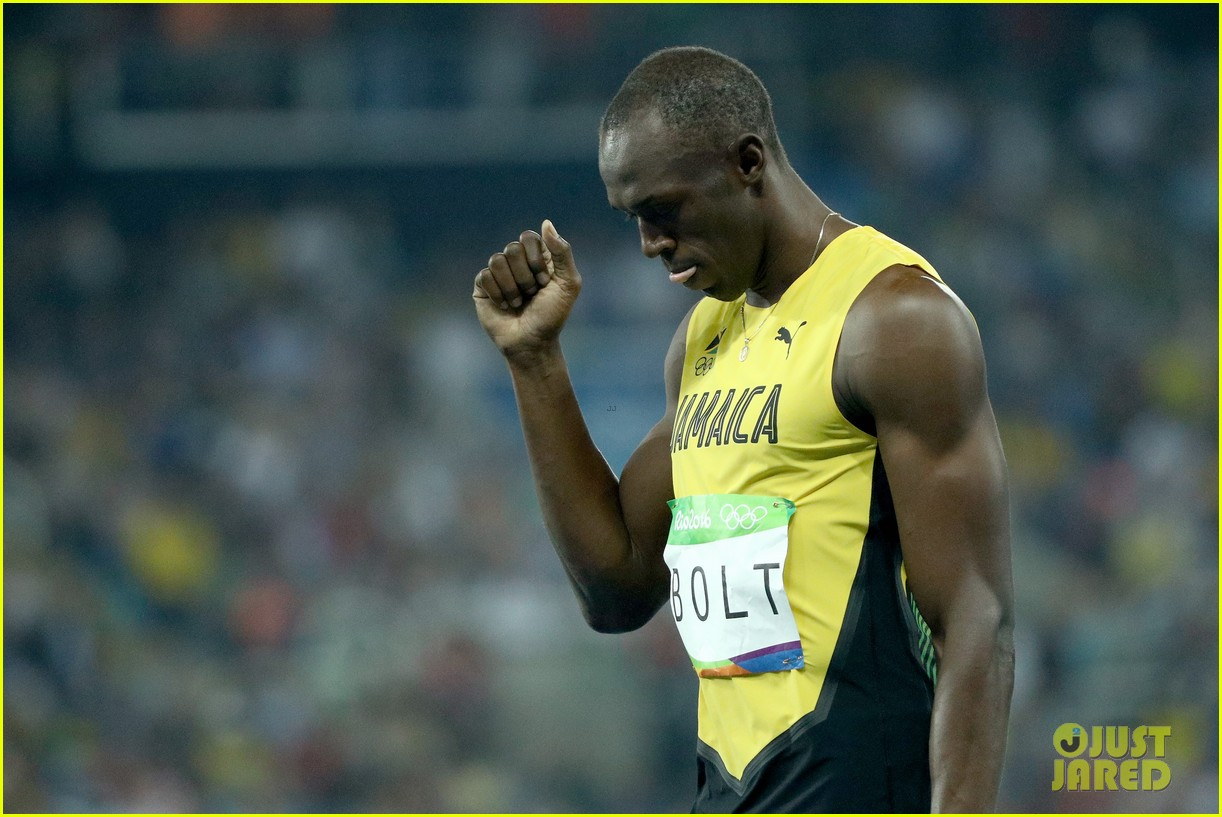 usain bolt first place 100m semifinals rio 013733704