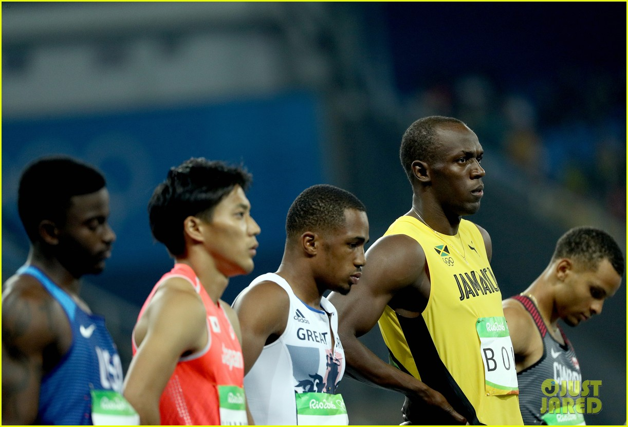 usain bolt first place 100m semifinals rio 023733705