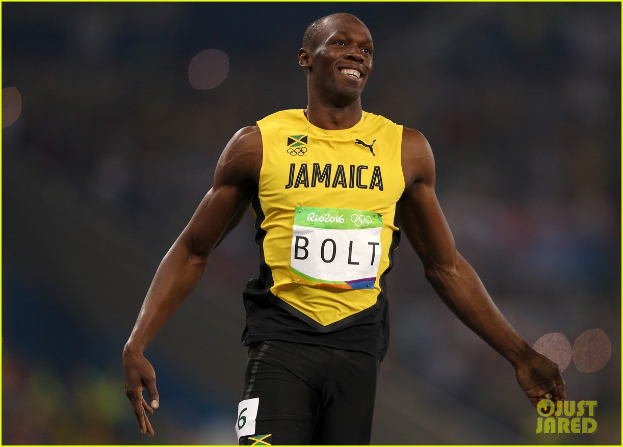 usain bolt first place 100m semifinals rio 043733707