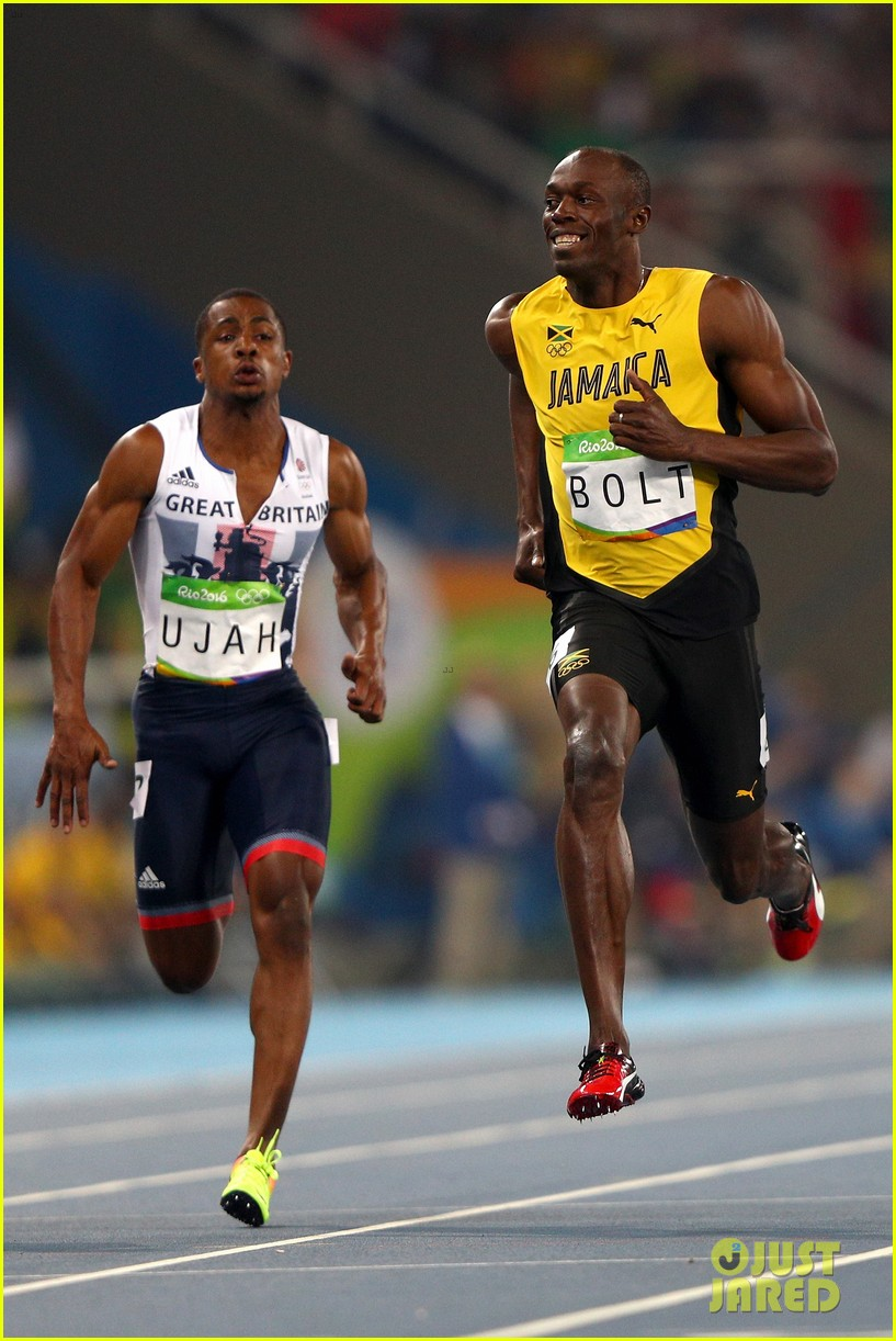 usain bolt first place 100m semifinals rio 053733708
