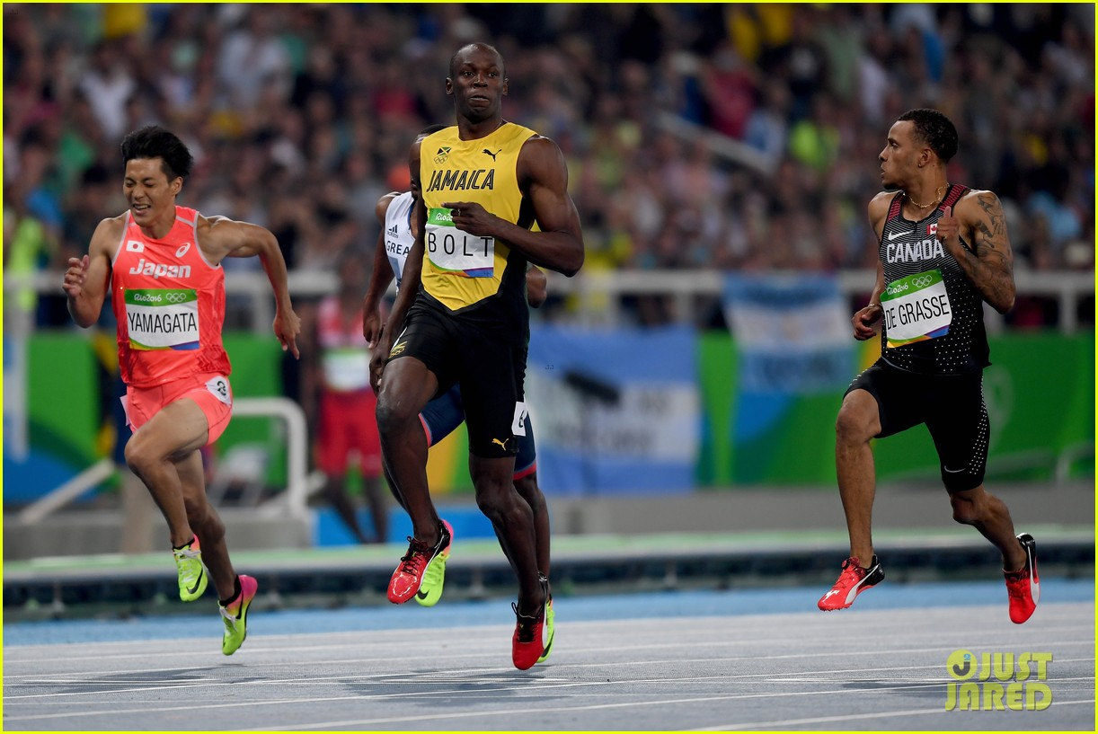 Usain Bolt Wins Third Gold Medal in 100m at Rio Olympics ...