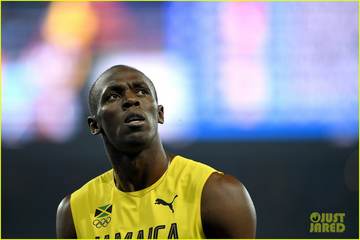 usain bolt first place 100m semifinals rio 133733716