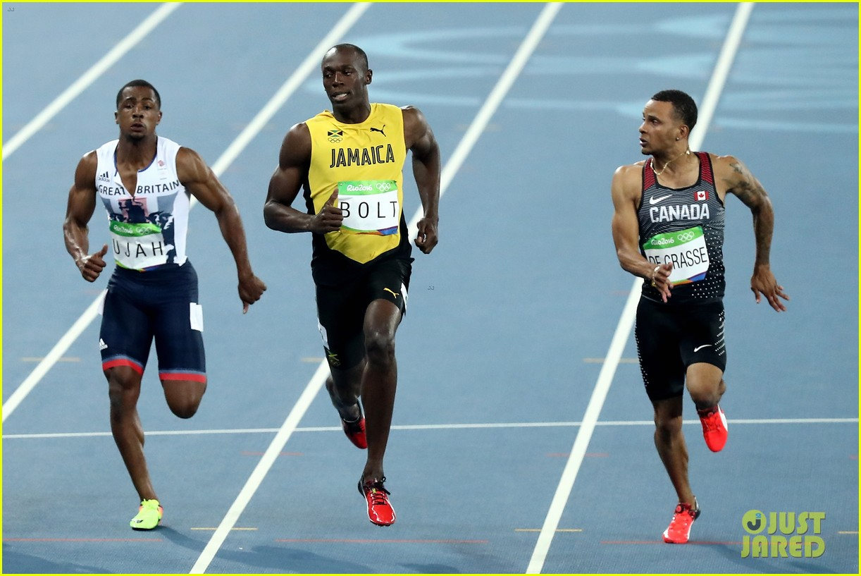 usain bolt first place 100m semifinals rio 193733722