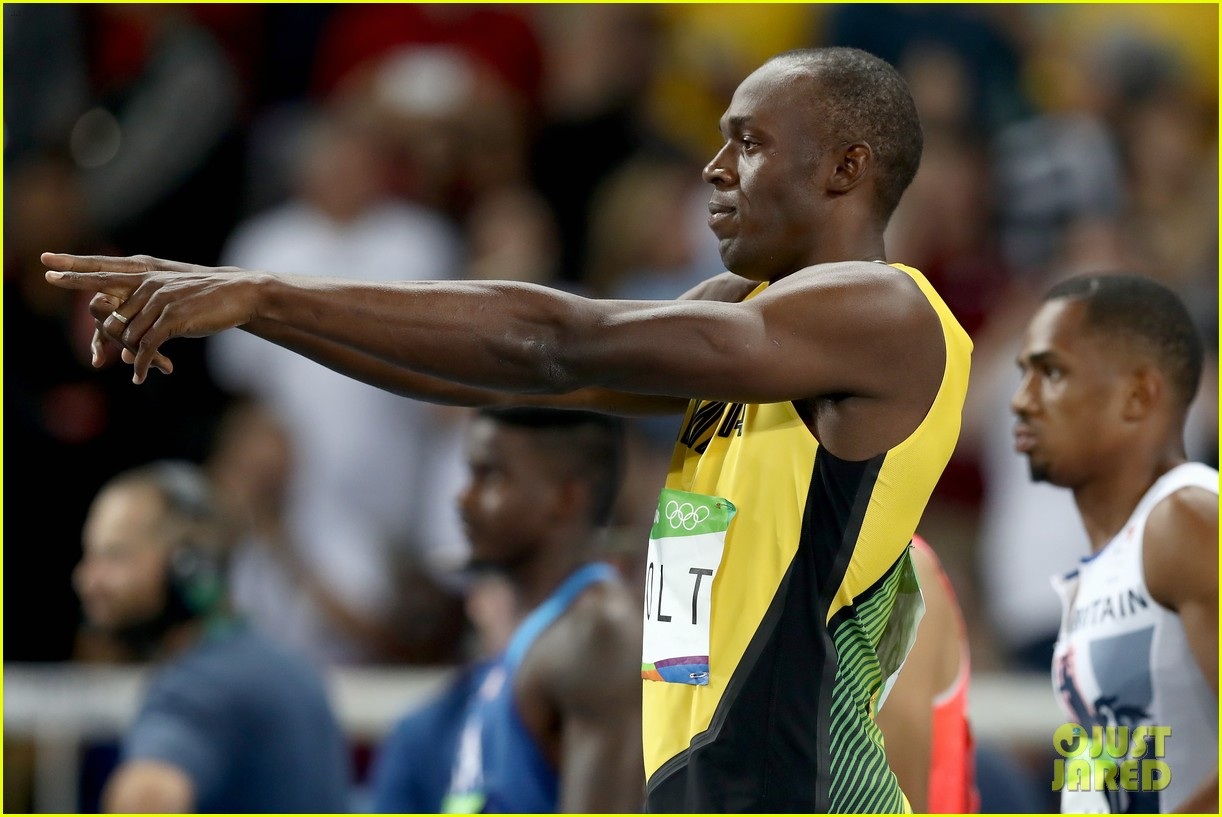 usain bolt first place 100m semifinals rio 213733724