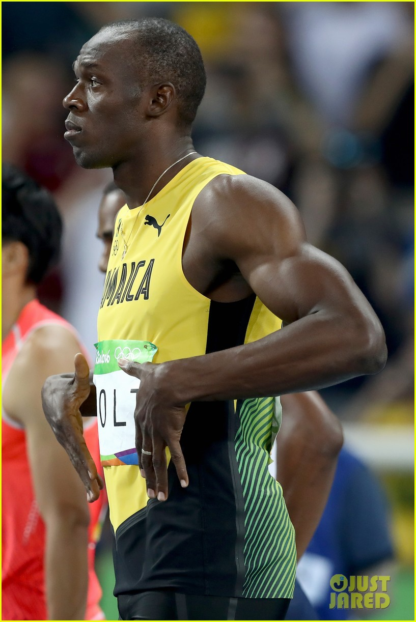 usain bolt first place 100m semifinals rio 243733727