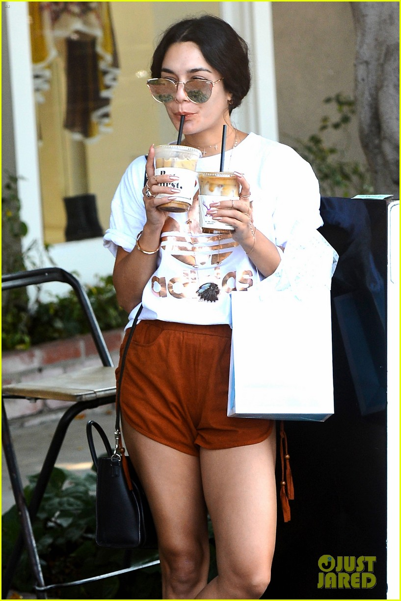 vanessa hudgens fuels up on coffee in weho006083741333
