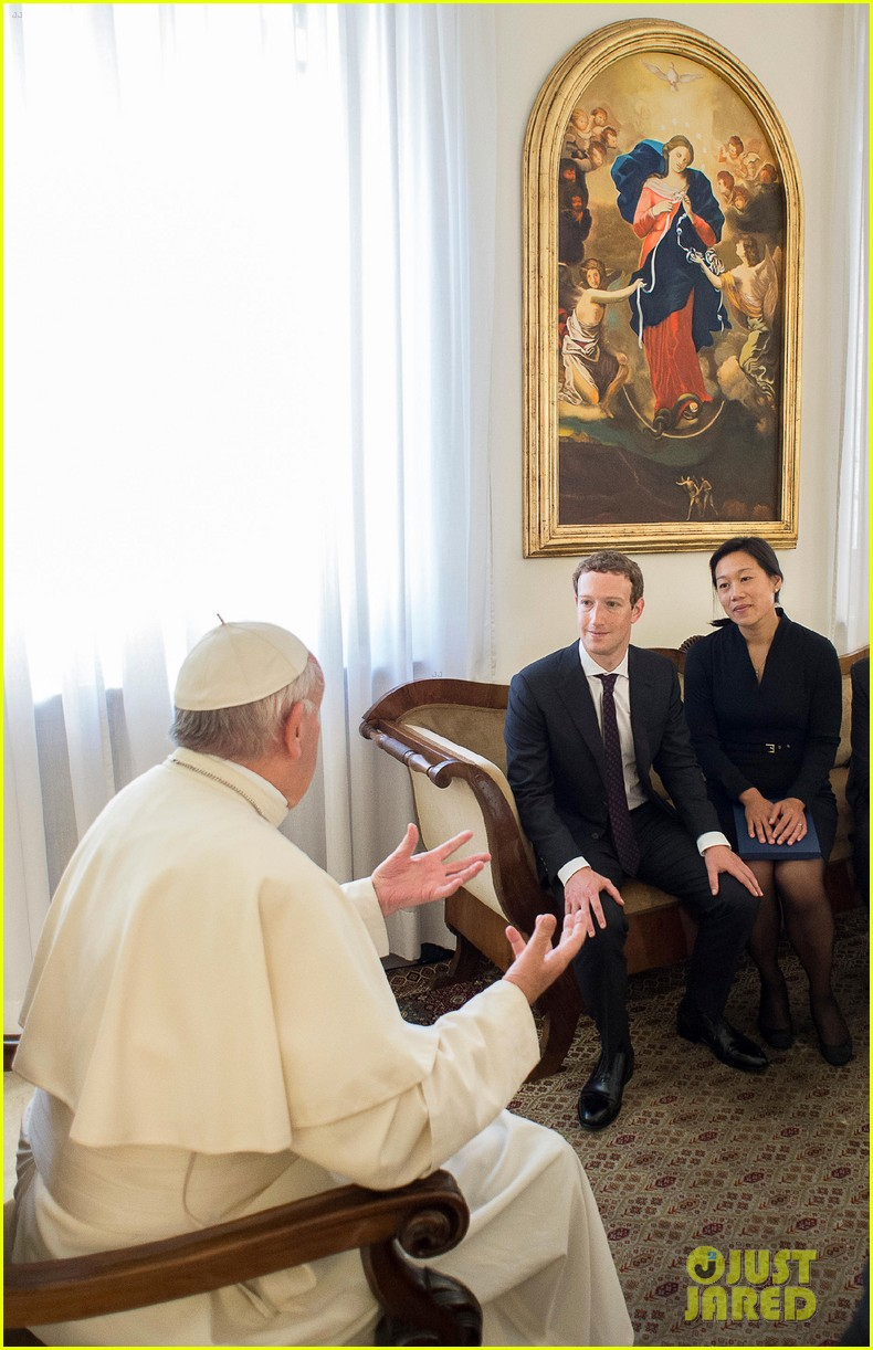 mark zuckerberg meets pope francis 043744756