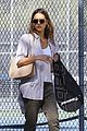 jessica alba steps out for brunch and tennis with her family 01