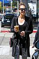 jessica alba grabs coffee with friends 15