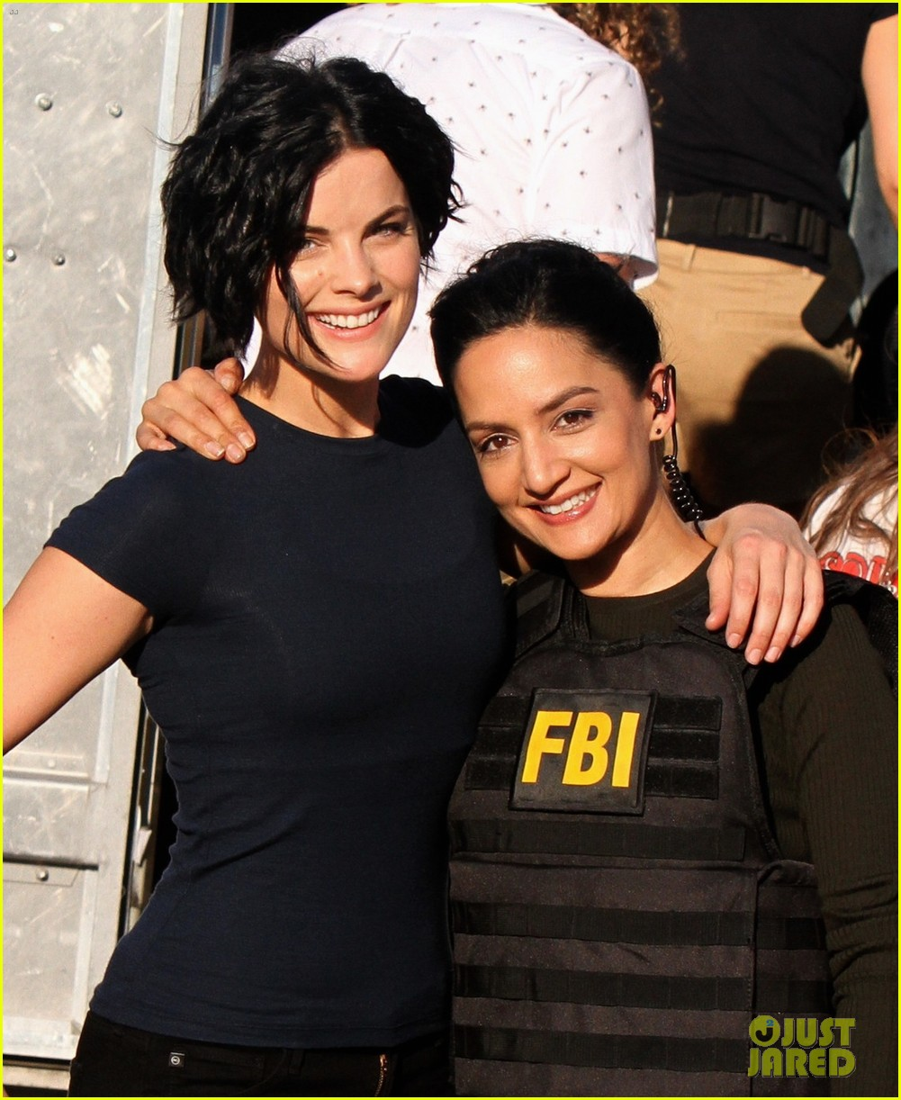 About this photo set: Jaimie Alexander and her co-star Archie Panjabi pose for a photo together while on the set of Blindspot on Saturday (September 24) in Greenpoint, New York City. … Read More Here