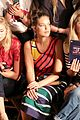 hailey baldwin taylor hill chanel iman tommy hilfiger nyfw show 29