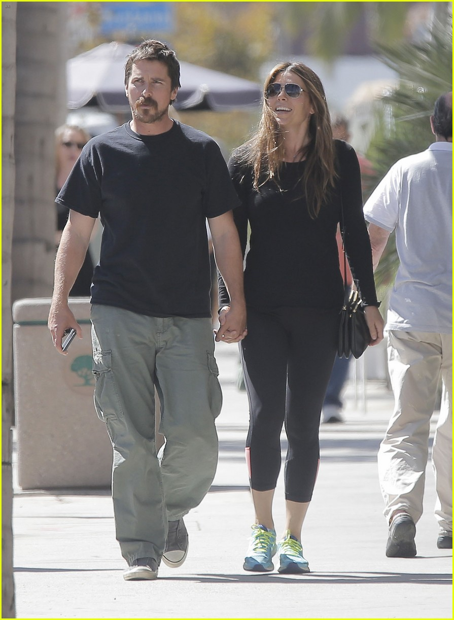 christian bale sibi blazic step out for lunch 013770801