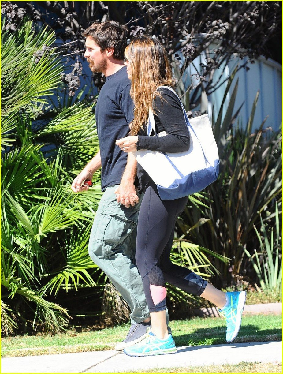 christian bale sibi blazic step out for lunch 053770805