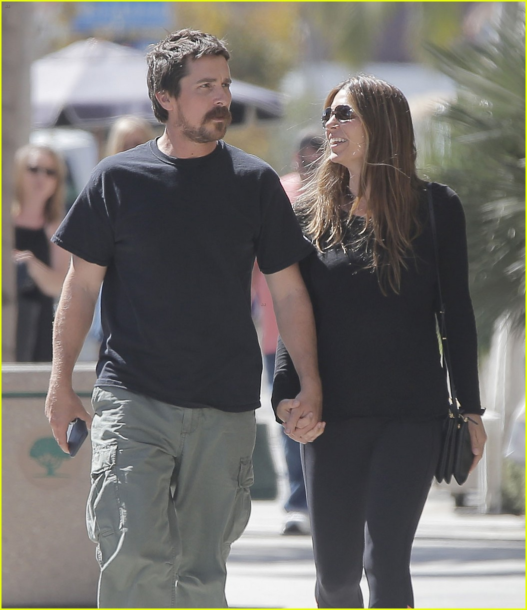 christian bale sibi blazic step out for lunch 073770807