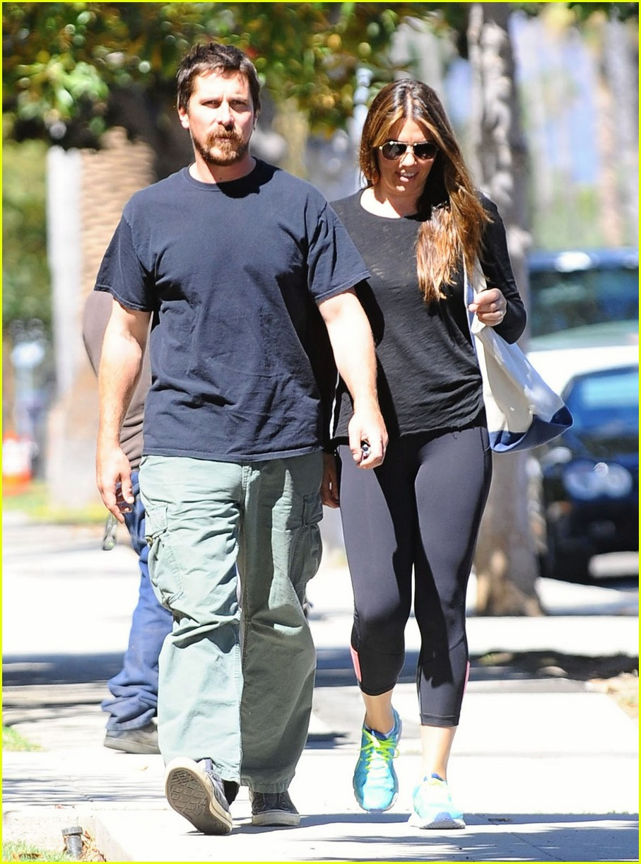 christian bale sibi blazic step out for lunch 093770809