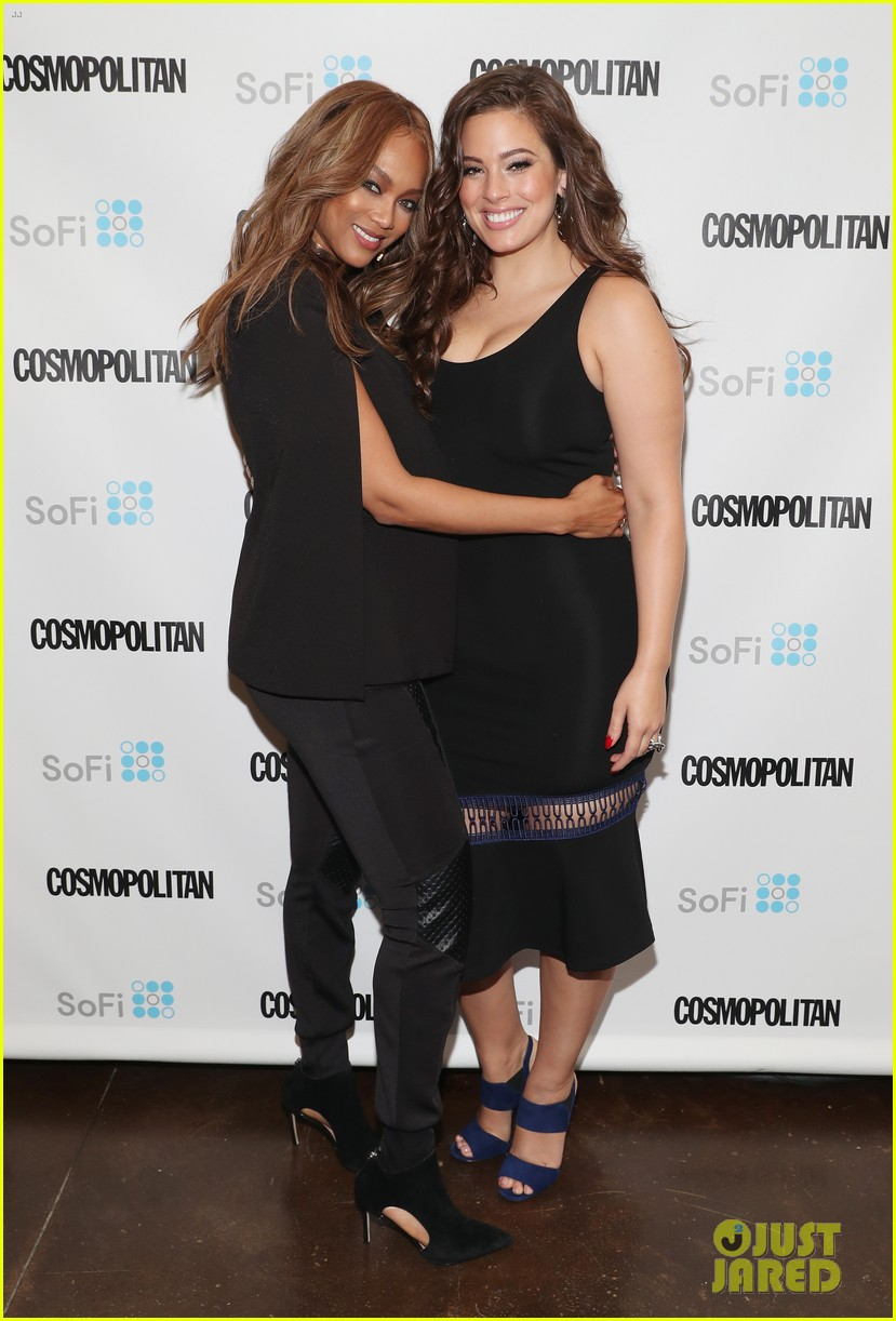 tyra banks and ashley graham share their wisdom at comos fun fearless money event 023768916