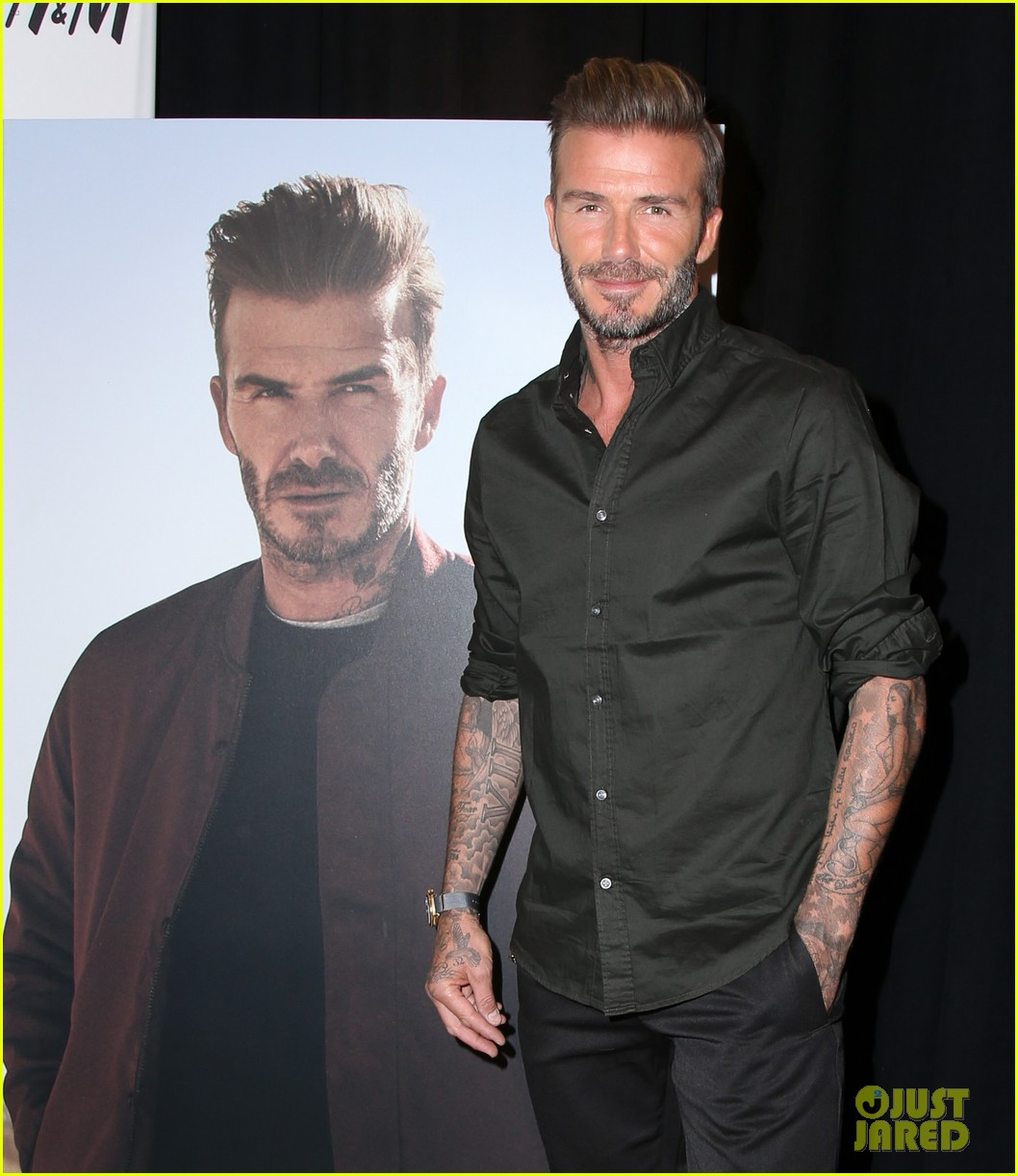david beckham kevin hart road trip to vegas in new h m ad photo