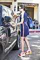 jordana brewster picks up a bouquet of flowers in la 02