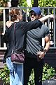 chace crawford and rebecca rittenhouse step out for breakfast and furniture shopping 17