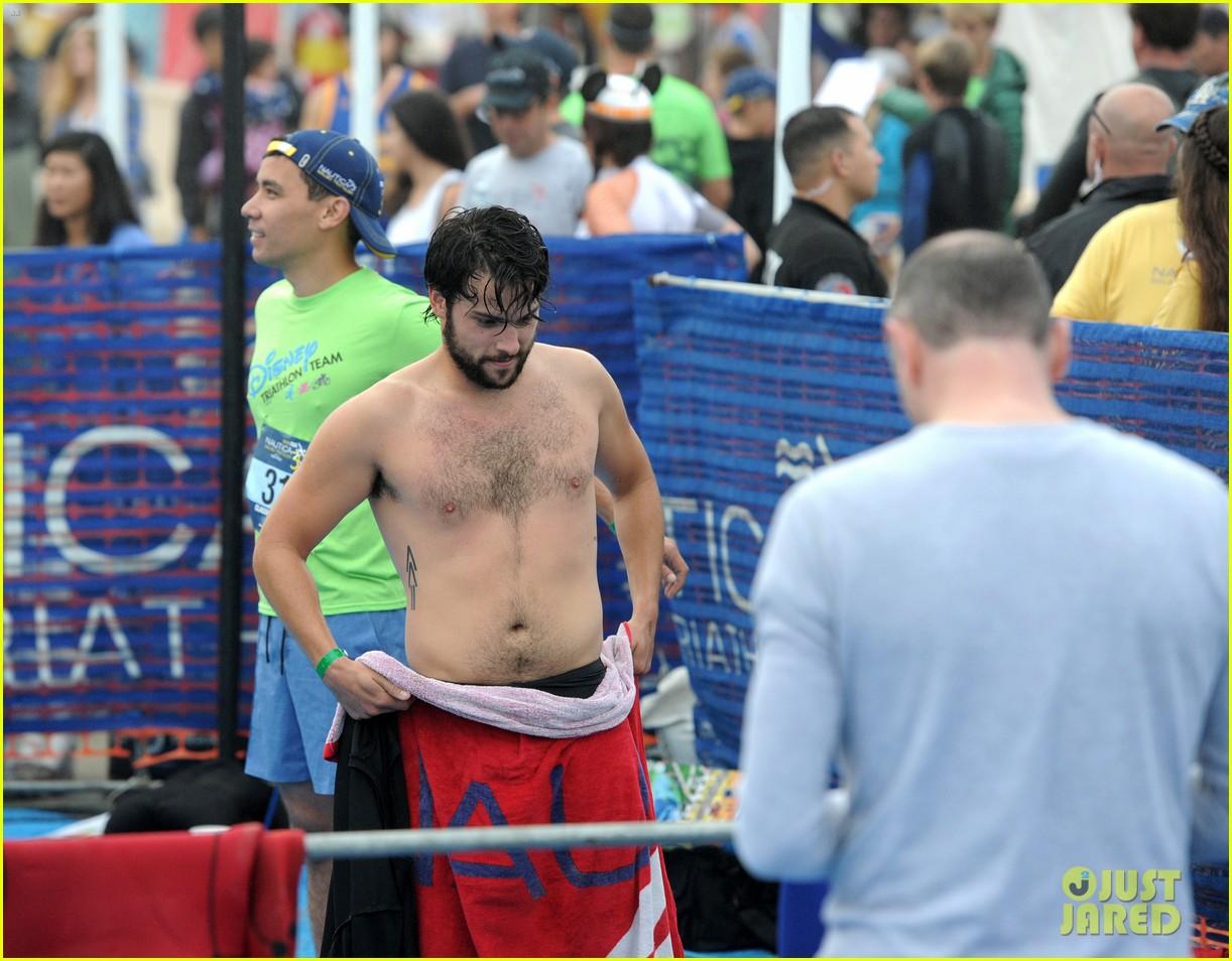 james marsden zac efron among celebs malibu triathlon 073763370