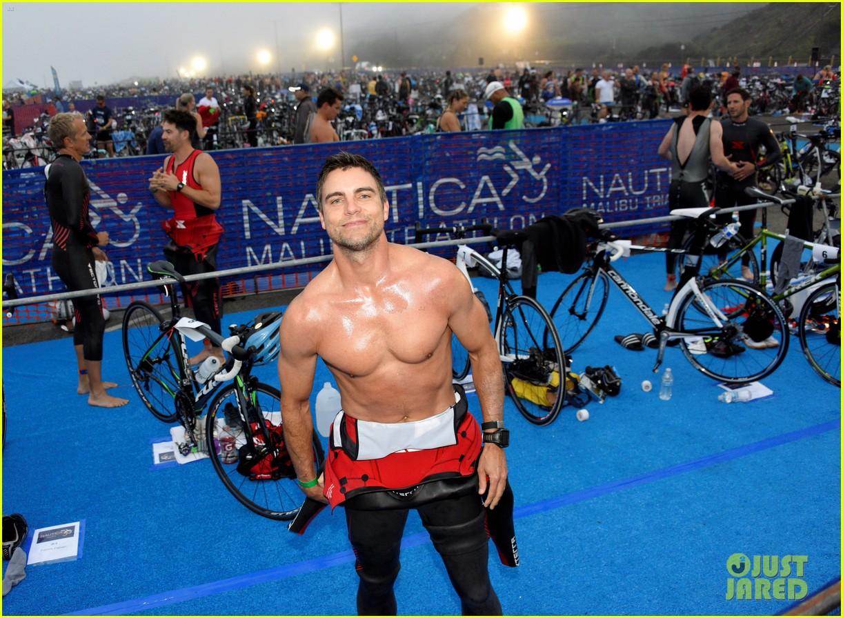 james marsden zac efron among celebs malibu triathlon 083763371