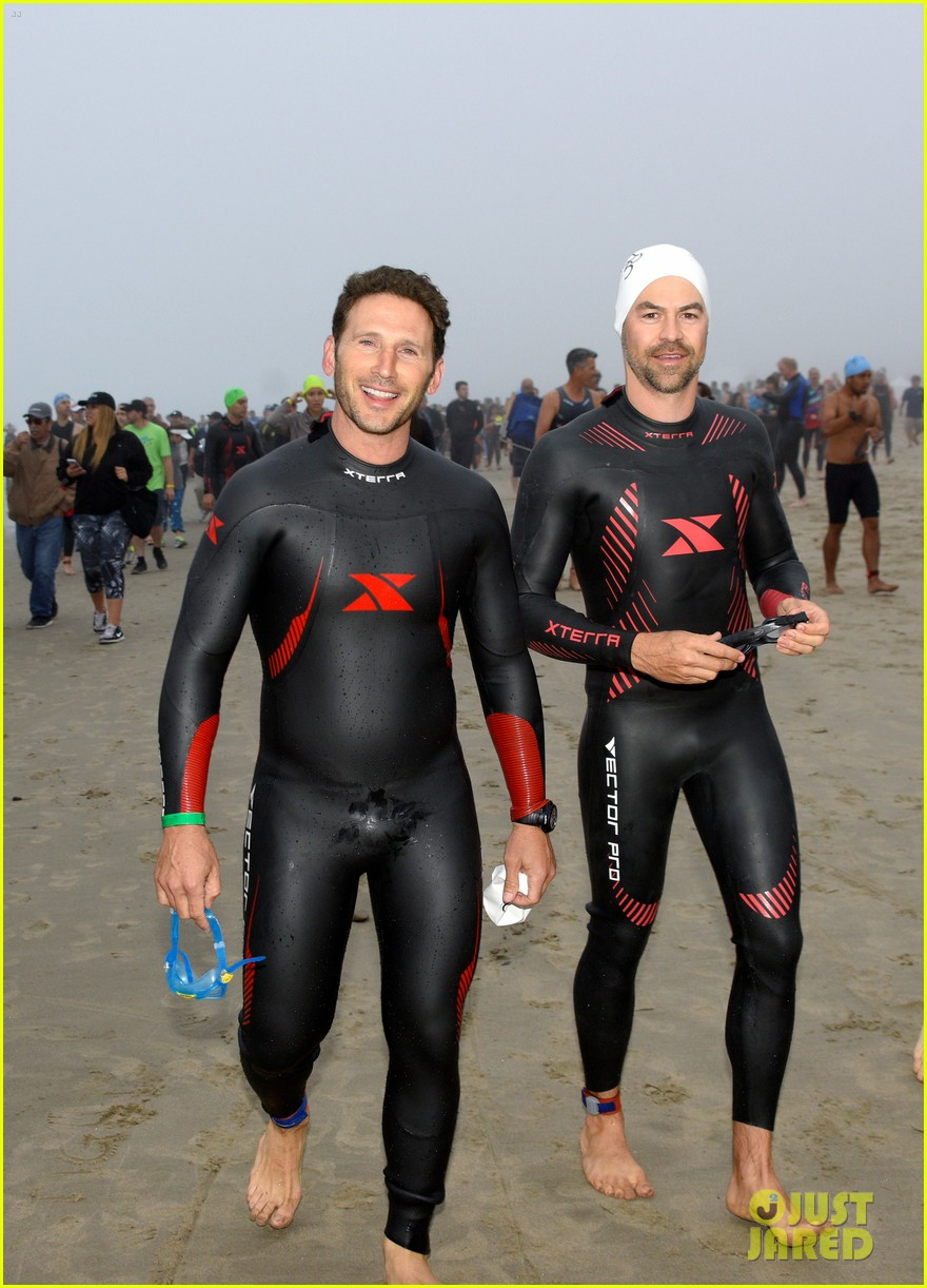 james marsden zac efron among celebs malibu triathlon 123763375