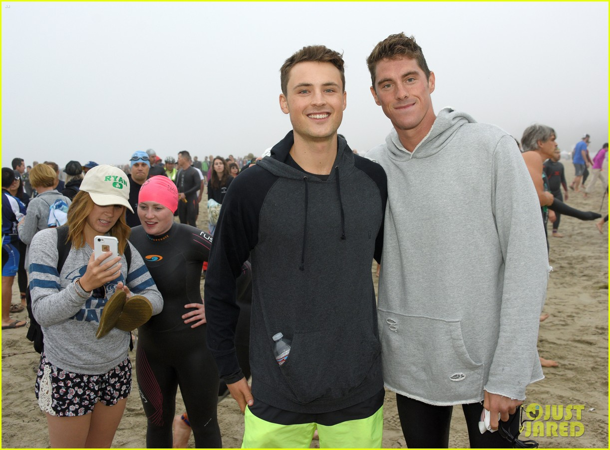 james marsden zac efron among celebs malibu triathlon 283763391