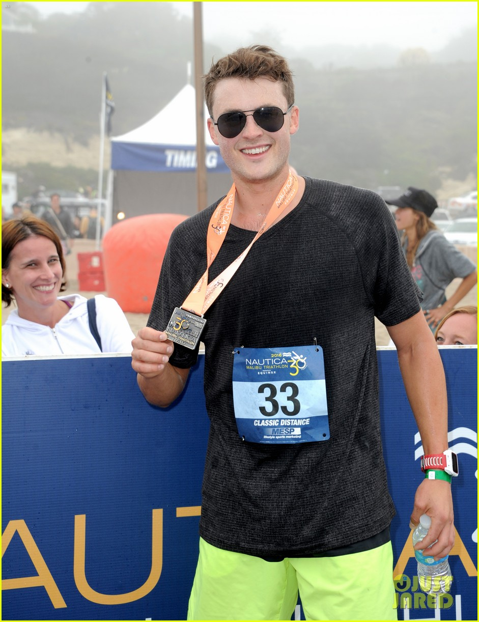 james marsden zac efron among celebs malibu triathlon 353763398