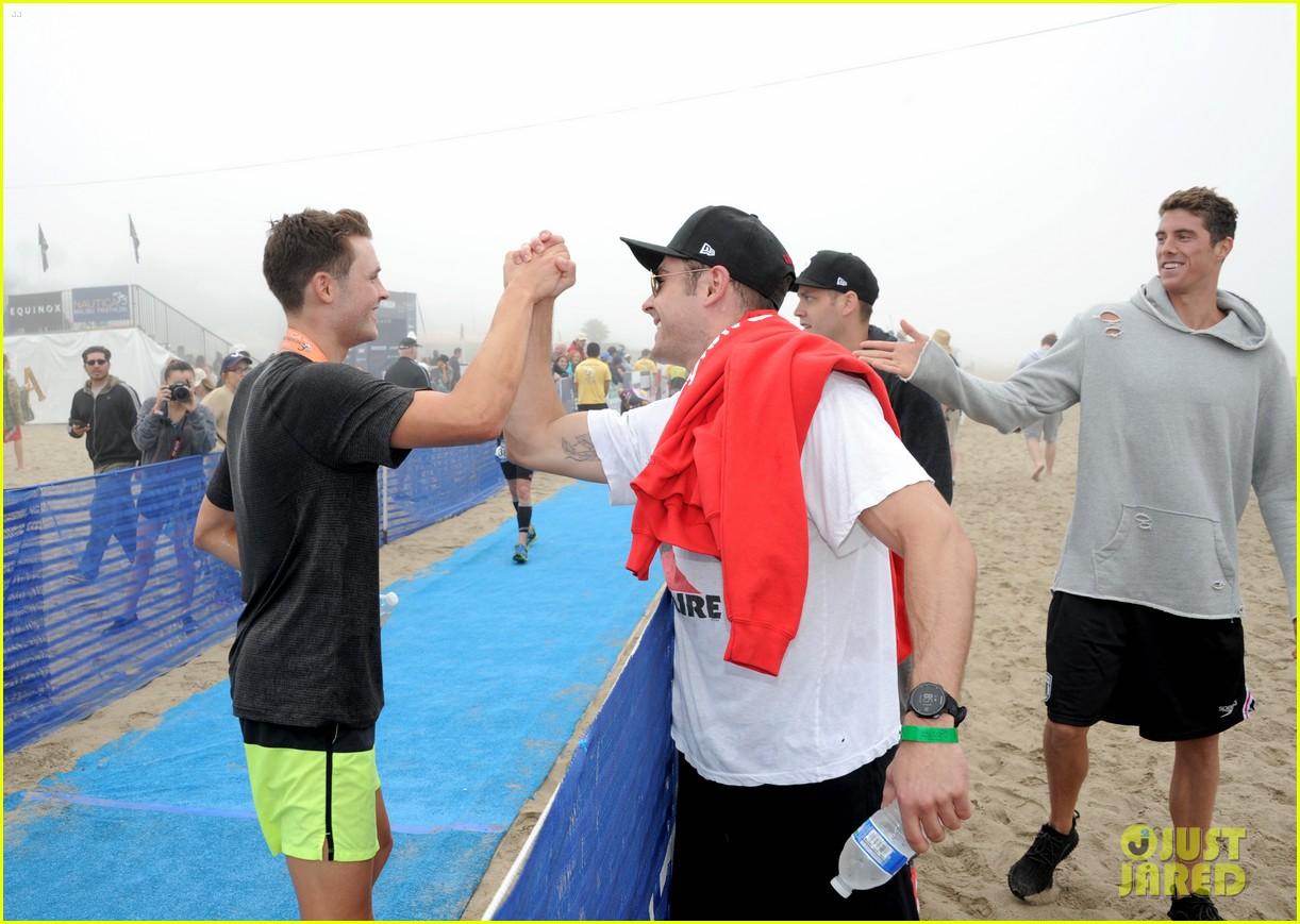 james marsden zac efron among celebs malibu triathlon 363763399