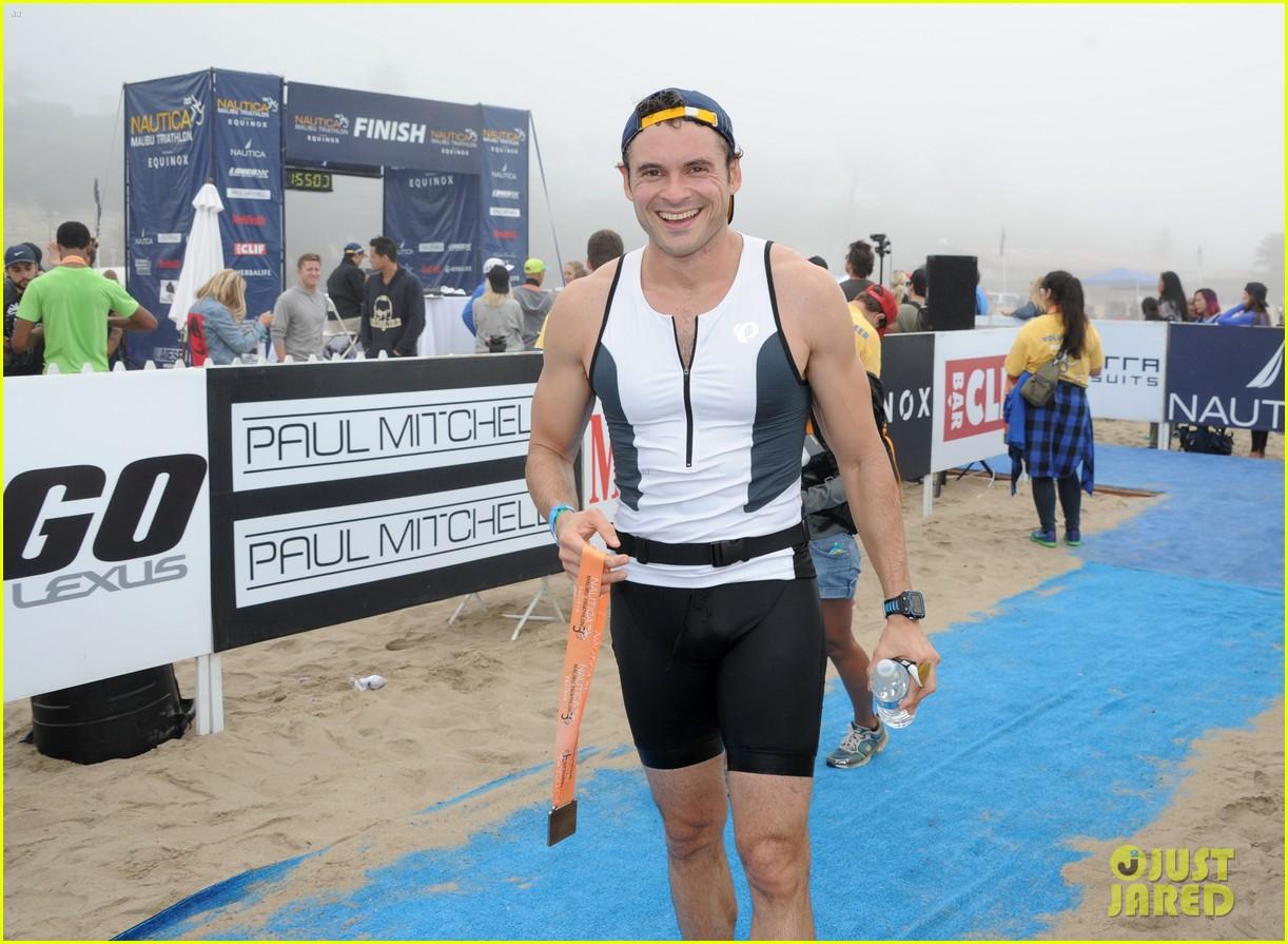 james marsden zac efron among celebs malibu triathlon 373763400
