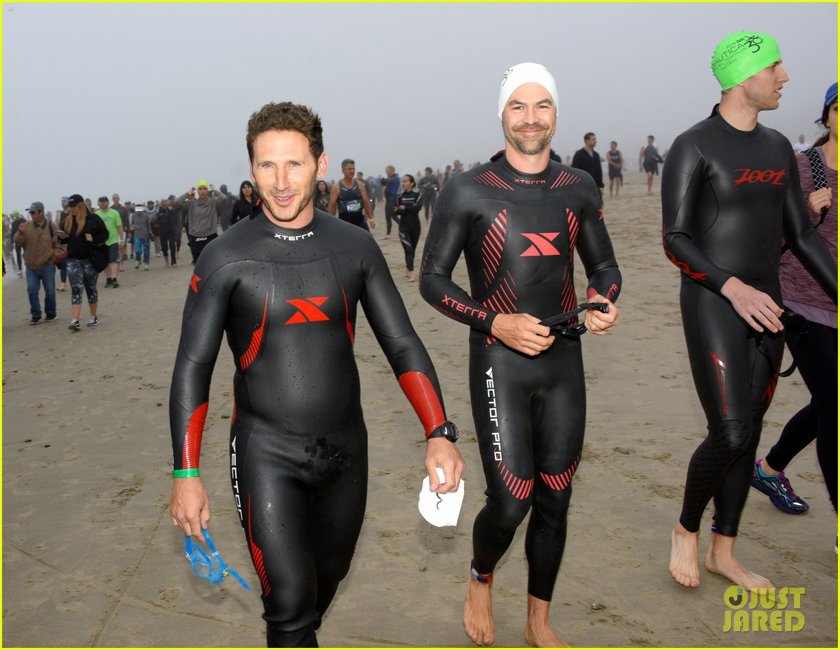 james marsden zac efron among celebs malibu triathlon 403763403