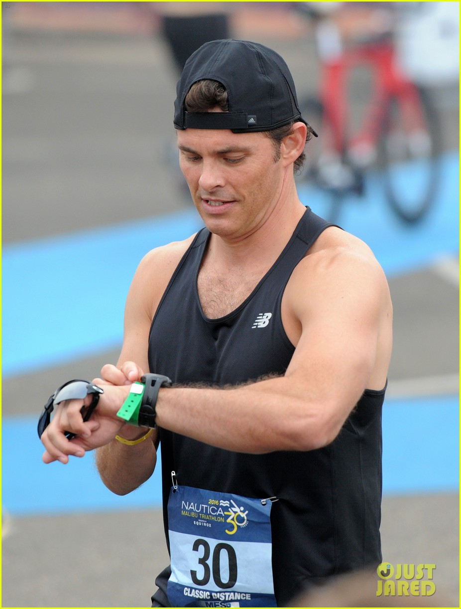 james marsden zac efron among celebs malibu triathlon 523763415