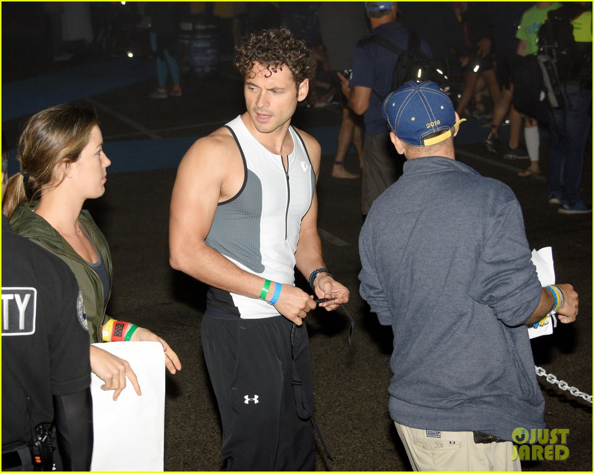 james marsden zac efron among celebs malibu triathlon 593763422