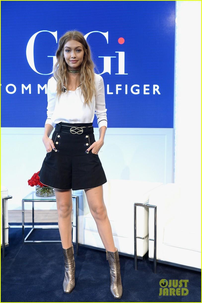 5d444a2ab8df Gigi Hadid   Tommy Hilfiger Promote  TommyxGigi  Fashion Collection Together