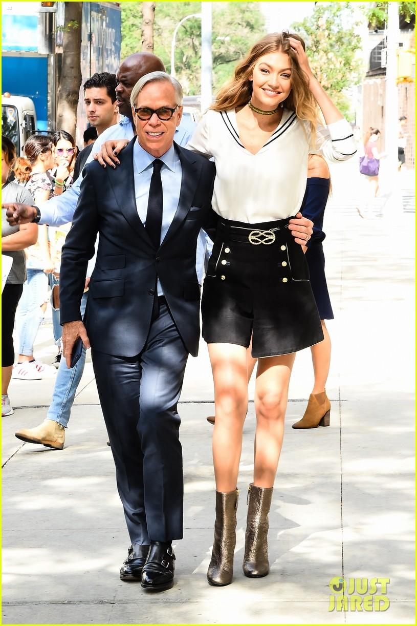 dafb057a1b39 Gigi Hadid   Tommy Hilfiger Promote  TommyxGigi  Fashion Collection Together   Photo 3754030