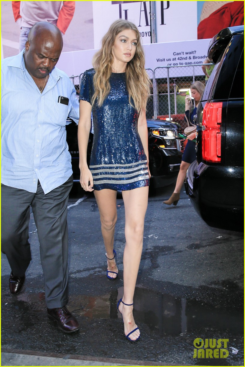 gigi hadid tommy hilfiger view gma amazon appearances nyfw 253754053