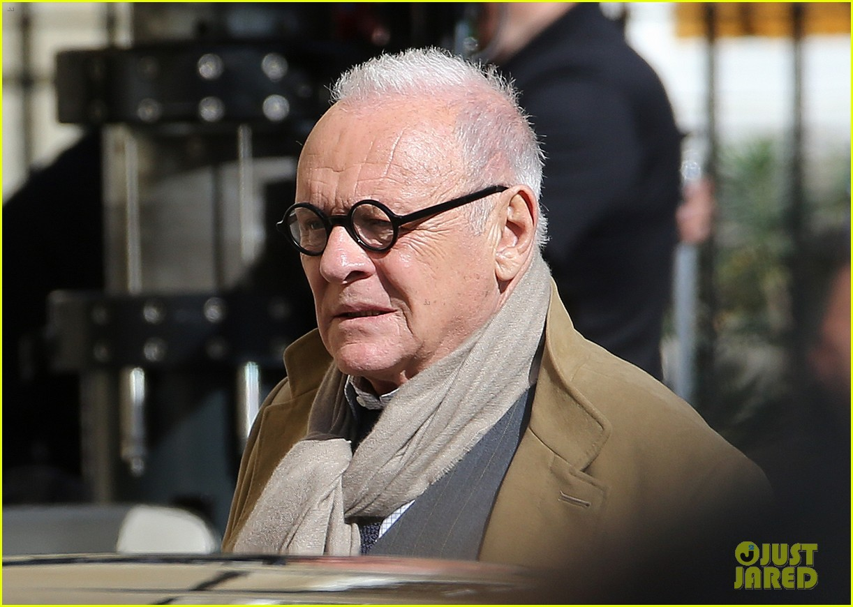 Anthony Hopkins & Laura Haddock Film New Scenes for ...