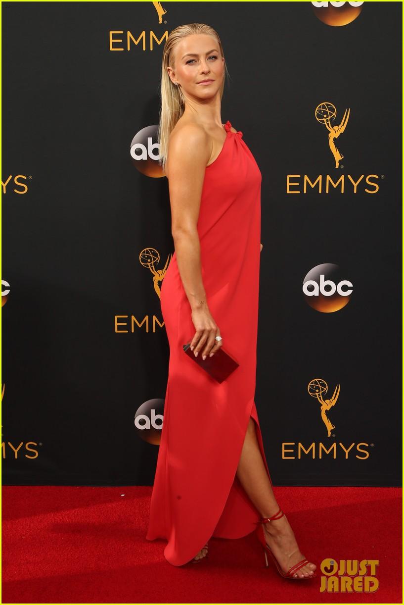 Full Sized Photo of derek julianne hough bring dad to ... Emmys 2016