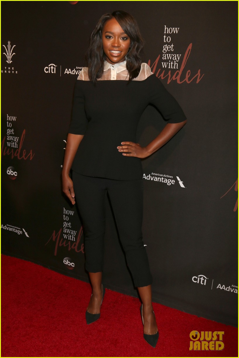 how to get away with murder cast celebrate season three premiere 013766098