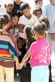 angelina jolie meets children at syrian refugee camp 22