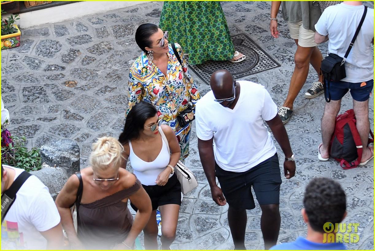 kourtney kardashian kris jenner capri vacation 333749603