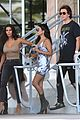 kim kourtney and khloe kardashian enjoy their friday in miami 13