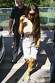 kim kardashian goes braless while wearing see through top 21