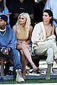 kim kardashian front row kanye yeezy 07