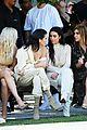 kim kardashian front row kanye yeezy 13